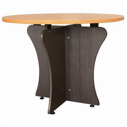 bàn họp chân gỗ giá rẻ