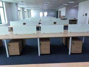 Hộc gỗ giá rẻ văn phòng