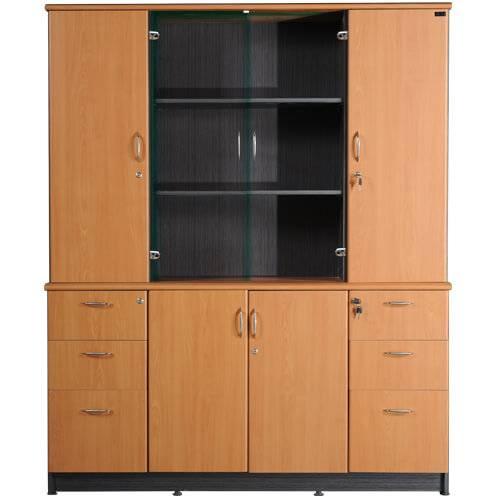 tủ gỗ tài liệu văn phòng hòa phát