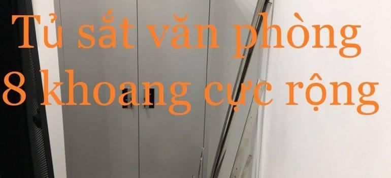 tủ sắt văn phòng TS01-2KV