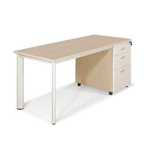 bàn văn phòng chân oval