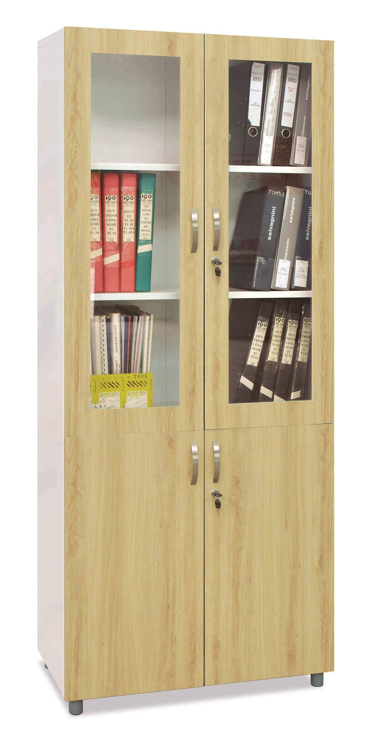 tủ gỗ văn phòng đẹp
