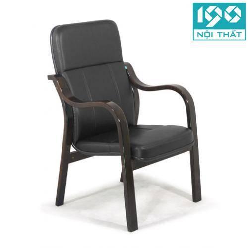 ghế phòng họp chân gỗ