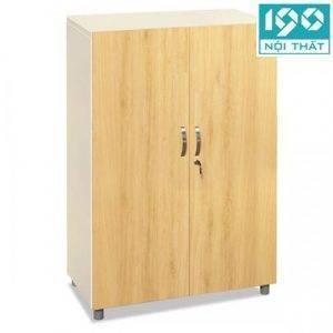 Tủ sắt cánh gỗ giá rẻ TSG03-2