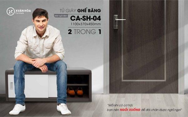 Tủ để giày đẹp giá rẻ CA-SH-04