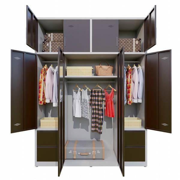 Tủ quần áo cao 2m4 CA-8A-6KLG